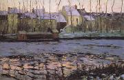 Maurice cullen Moret,Winter (nn02) oil on canvas