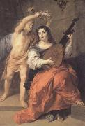 Theodor van Thulden Harmony and Marriage (mk14) painting