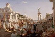 Thomas Cole The Course of Empire: The Consummation of Empire (mk13) china oil painting artist