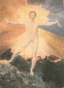 William Blake Happy Day-The Dance of Albion (mk19) painting
