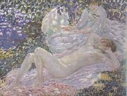 frederick carl frieseke Summer (nn02) oil on canvas
