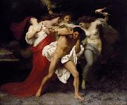 Adolphe William Bouguereau Orestes Pursued by the Furies (mk26) painting