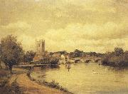 Alfred de breanski Henley-on-Thames (mk37) painting