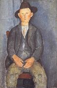 Amedeo Modigliani The Little Peasant (mk39) oil painting reproduction