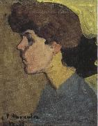 Amedeo Modigliani Head of a Woman in Profile (mk39) painting