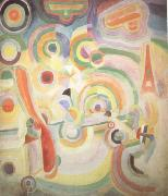 Delaunay, Robert Homage to Bleriot (nn03) painting