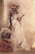 Georges Clairin Deux femmes Ouled-Naiil (mk32) oil on canvas