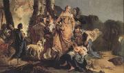 Giovanni Battista Tiepolo The Finding of Moses (nn03) oil painting reproduction