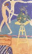 Henri Matisse Nasturtiums in The Dance (I) (mk35) oil painting