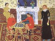 Henri Matisse The Painter's Family (mk35) oil painting