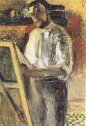Henri Matisse Self-Portrait in Shirtsleeves (mk35) oil painting