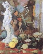 Henri Matisse Still Life with Statuette (mk35) oil painting reproduction