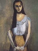 Henri Matisse The Italian Woman (mk35) oil painting