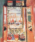 Henri Matisse Open Window at Collioure (mk35) oil painting
