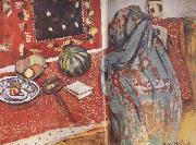 Henri Matisse The Red Carpets (mk35) oil painting