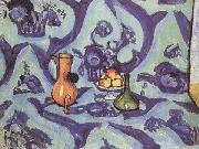 Henri Matisse Still Life with Blue Tablecoloth (mk35) oil painting