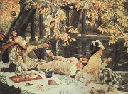 James Tissot Holiday (The Picnic) (nn03) painting