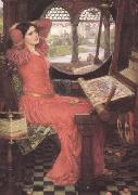 i and Half-sick of shadows said the Lady of Shalott (mk41)
