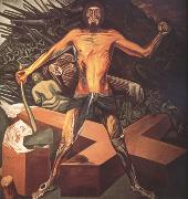 Jose Clemente Orozco Modern Migration of the Spirit (nn03) oil on canvas