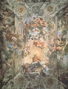 Pietro da Cortona Giorification of the Rule of Urban Vii (nn03) oil painting reproduction