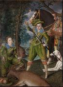 Robert Peake the Elder Henry,Prince of Wales (mk25) painting