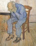 Vincent Van Gogh Old Man in Sorrow (nn04) oil painting reproduction