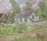 Vincent Van Gogh House in Auvers (nn04) painting