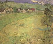 Vincent Van Gogh View of Vesseots near Auvers (nn04) china oil painting artist