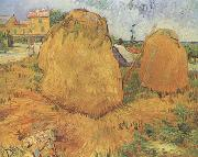 Vincent Van Gogh Haystacks in Provence (nn04) painting