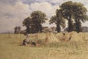 William e.harris HarveTime,Dorney,Near Windsor (mk37) painting