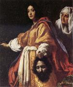 ALLORI  Cristofano Judith with the Head of Holofernes oil on canvas