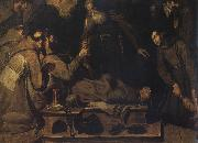 Bartolome Carducho Death of St.Francis oil on canvas