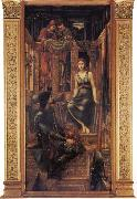 Burne-Jones, Sir Edward Coley King Cophetua and the Beggar Maid oil painting reproduction