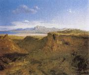 Carl Rottmann Sicyon and Corinth oil on canvas