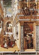 Carlo Crivelli Annunciation with St Emidius oil painting reproduction
