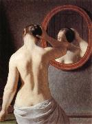 Christoffer Wilhelm Eckersberg Nude oil painting reproduction