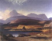 David Young Cameron Wilds of Assynt oil on canvas