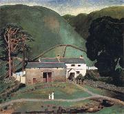 Dora Carrington Farm at Watendlath oil on canvas