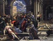 El Greco Purification of the Temple oil on canvas