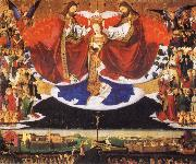 Enguerrand Quarton Coronation of the Virgin oil painting reproduction