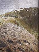 Eric Ravilious The Vale of the White Horse oil