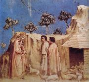 GIOTTO di Bondone Joachim Takes Refuge in the Wilderness oil painting reproduction