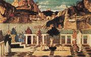 Gentile Bellini Christian Allegory oil painting
