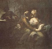 Heinrich Fussli Recreation by our Gallery oil on canvas