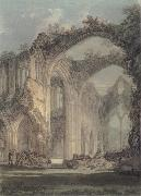 J.M.W. Turner The Chancel and Crossing of Tintern Abbey,Looking towards the East Window oil painting reproduction