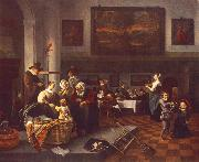 Jan Steen The Christening china oil painting artist