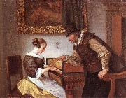 Jan Steen The Harpsichord Lesson oil painting reproduction