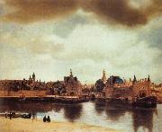 Jan Vermeer View of Delft oil painting reproduction