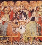 Jaume Huguet Last Supper oil painting reproduction