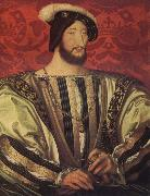 Jean Clouet Portrait of Francis I,King of France oil painting